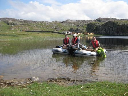 Stories of Lake Coring in Assynt and Coigach
